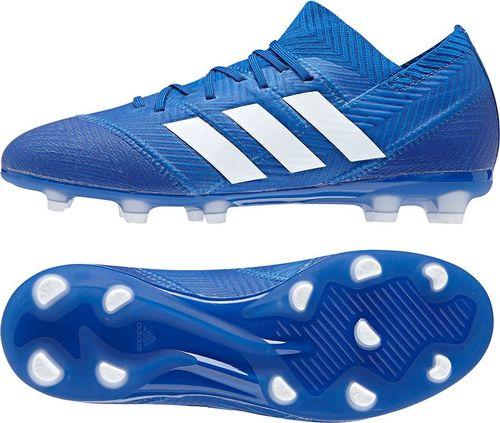 5e993680f619 Adidas Buty piłkarskie Nemeziz 18.1 FG J niebieskie r. 38 (DB2348)