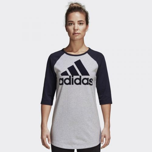 2cb19b04a3077b Adidas Koszulka damska szara r. XS (DQ2966)