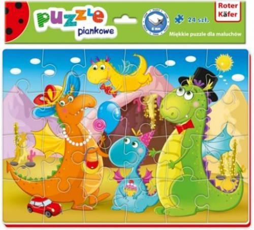 Roter Kafer Puzzle piankowe Dinozaury