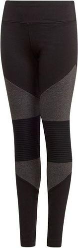 Adidas Legginsy dziecięce YG VFA Tight czarne r. 146 cm (DJ1401)