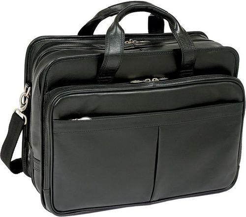 """MCKLEIN Torba biznesowa na laptopa czarna Walton 17"""""""
