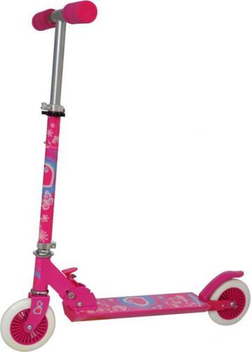 Axer Sport Hulajnoga składana 125 mm  różowa (A24911)