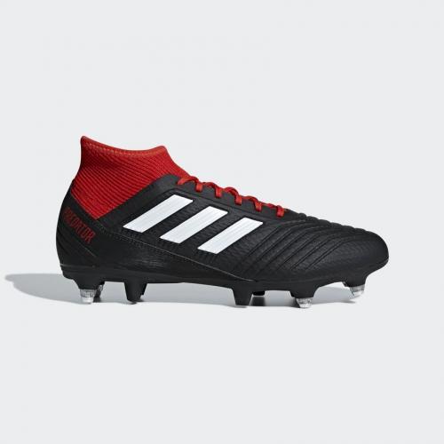 Adidas Buty piłkarskie Predator 18.3 SG czarne r. 42 (BB7749)