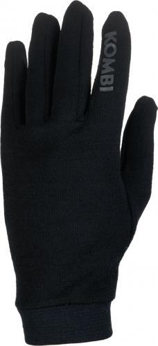 Kombi Rękawiczki męskie Merino 100% Liner 23971 czarne r. L/XL