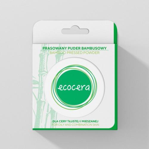Ecocera  puder prasowany Bambusowy 10g