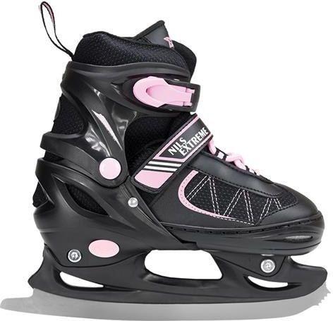 NILS Extreme Łyżwy Figurowe Black/Pink Rozm. S
