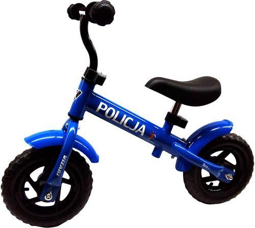 Victoria Sport Rowerek biegowy Policja 10'' niebieski