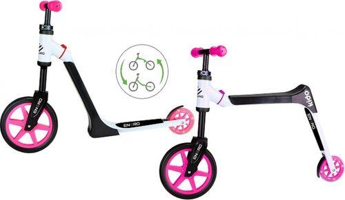 Victoria Sport Hulajnoga/ rowerek biegowy Kido Girl czarno-różowy