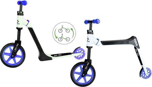Victoria Sport Hulajnoga/ rowerek biegowy Kido Boy czarno-fioletowy