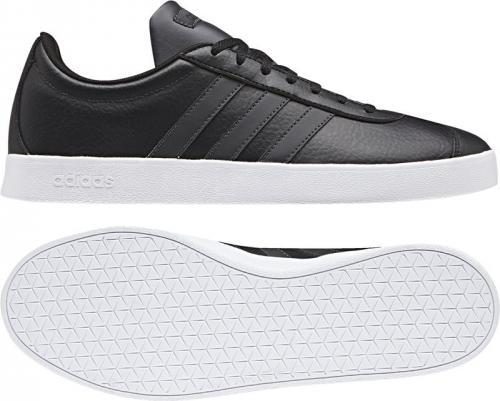 Adidas Buty męskie VL Court 2.0 czarne r. 41 1/3 (B43816)