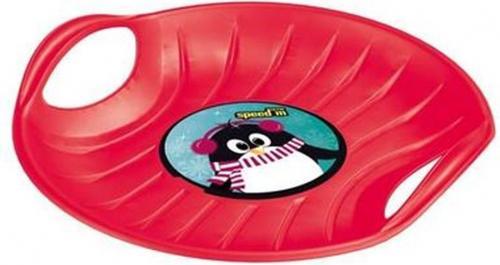 Victoria Sport Ślizg talerz czerwony