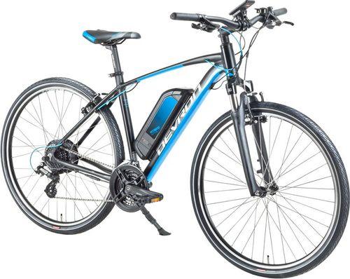 """Devron Crossowy rower elektryczny Devron 28161 28"""" - model 2018 Kolor Czarny, Rozmiar ramy 19"""""""