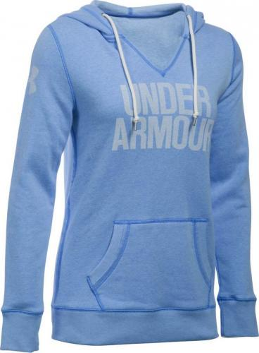 Under Armour Bluza sportowa damska Favorite Fleece WM Popover-VVT niebieska r. S (1283253-464)