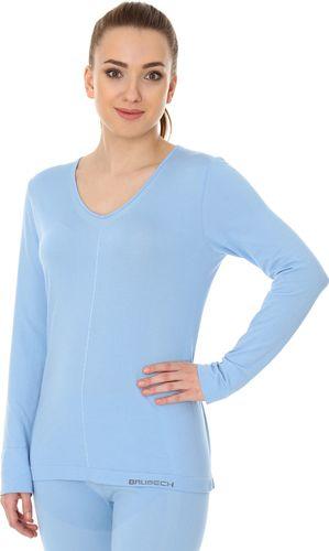 Brubeck LS12910 Koszulka damska długi rękaw COMFORT NIGHT błękitny XL