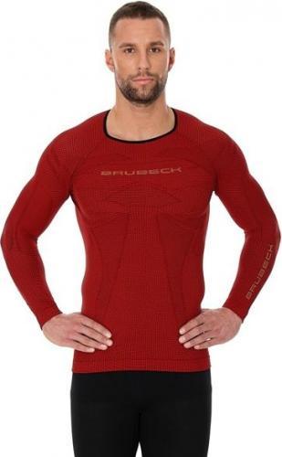 Brubeck Koszulka męska 3D Run Pro czerwona r. XXL (LS13000)