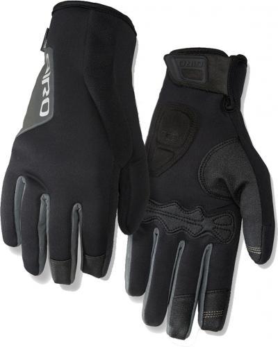 GIRO Rękawiczki rowerowe męskie Ambient 2.0 czarne r. L