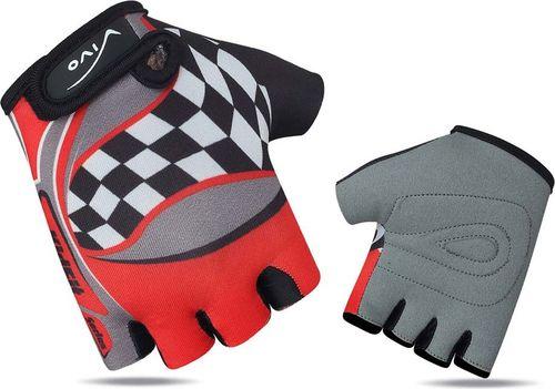 VIVO Rękawiczki rowerowe dziecięce SB-01-8823-A czerwone r. XXS (4962035)