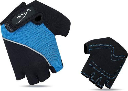 VIVO Rękawiczki rowerowe dziecięce SB-01-8816-A niebiesko-czarne r. XS (4962032)