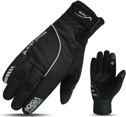 VIVO Rękawiczki rowerowe SB-02-1582-E czarne r. XL (4962561)