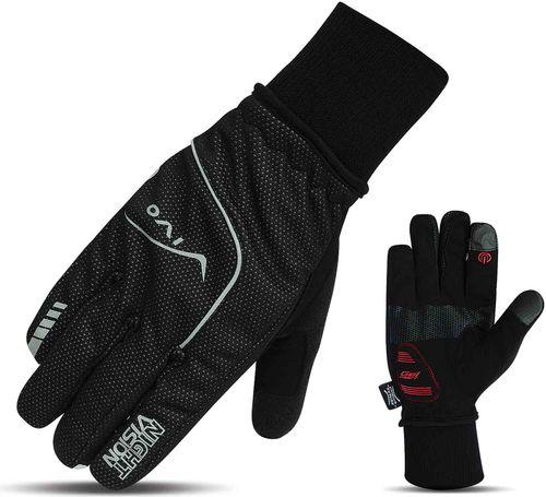 VIVO Rękawiczki rowerowe SB-02-1566 czarne r. M (4962555)