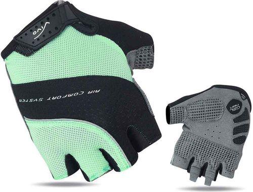 VIVO Rękawiczki rowerowe damskie SB-01-8507-E turkusowo-szare r. L (4962538)