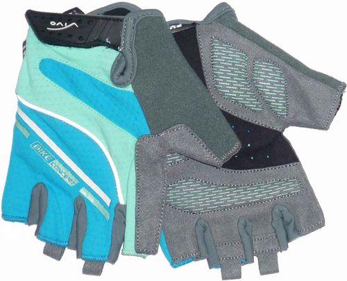 VIVO Rękawiczki rowerowe damskie SB-01-8503-B niebieskie r. M (4962525)