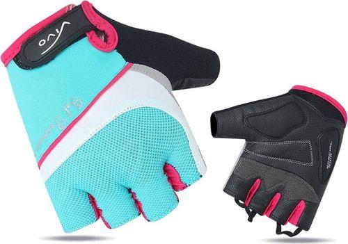 VIVO Rękawiczki rowerowe damskie SB-01-8501-C niebiesko-białe r. M (4962517)