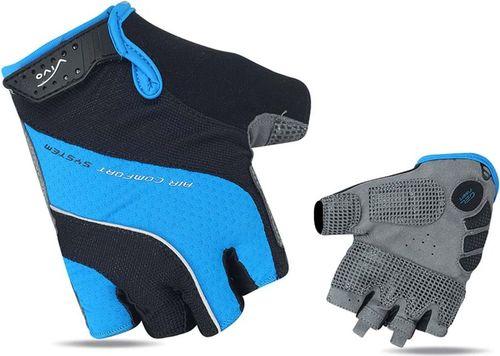 Vivo Rękawiczki rowerowe SB-01-7007-C czarno-niebieskie r. XL (4962498)