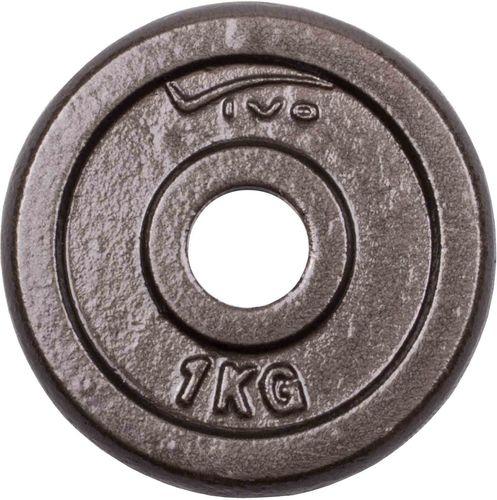 VIVO Obciążenie żeliwne czarne 1kg (4561800)