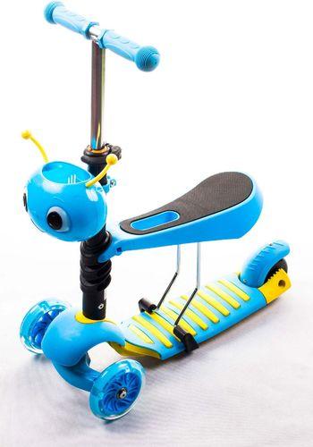 VIVO Hulajnoga 3w1 MG0023C rjx niebieska