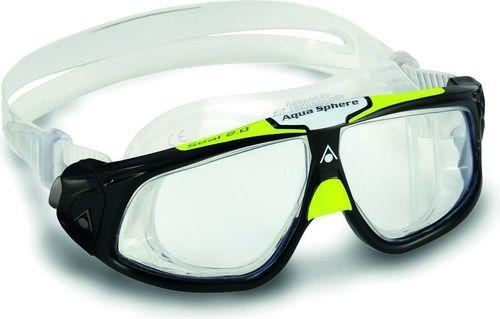 Aquasphere Okulary Seal 2.0 jasne szkła czarno-zielone (MS159133)