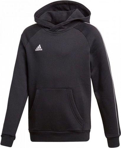 Adidas Bluza chłopięca Core 18 czarna r. 140 cm (CE9069)