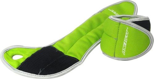 Axer Fit Obciążniki Velcro  2x0,5kg zielone (A1806)
