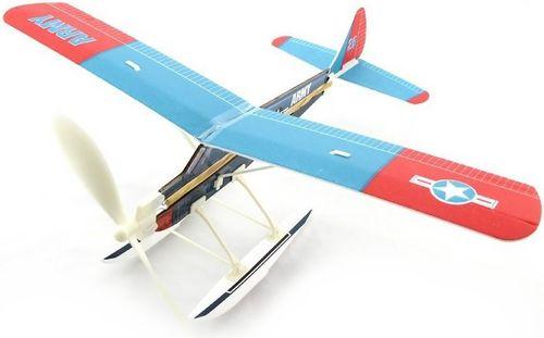 ZT Model Szybowiec Aviator-Beaver 450mm z napędem gumowym