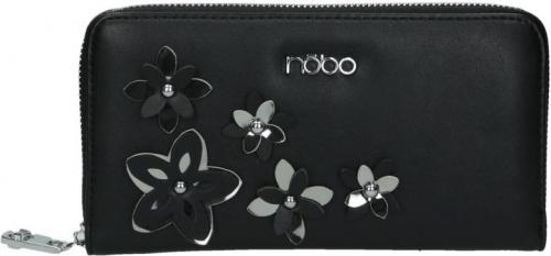 Nobo Portfel damski NPUR-E0020-C020 czarny