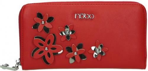 Nobo Portfel damski NPUR-E0020-C005 czerwony