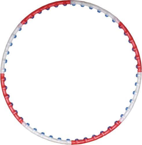 SMJ sport Hula-Hop z kulkami Anion 1 czerwone (H0095)