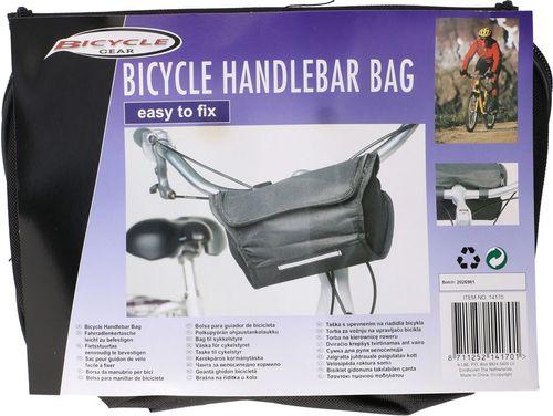 Sakwa rowerowa Bicycle Gear czarna