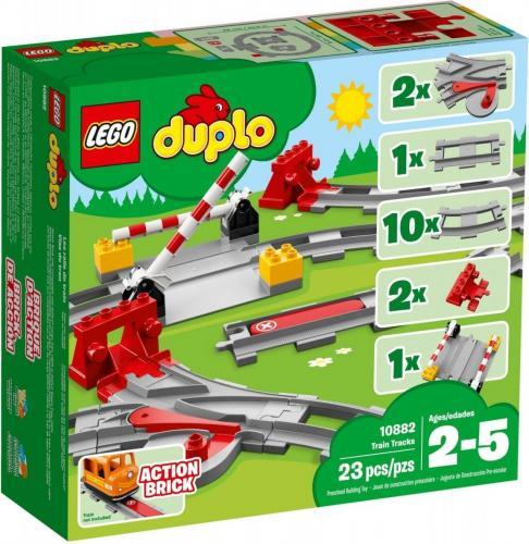 LEGO Klocki Duplo Tory Kolejowe