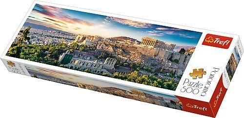 Trefl Puzzle, 500 elementów. Panorama - Akropol, Ateny (GXP-645439)