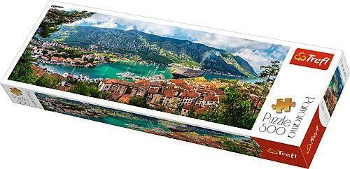 Trefl Puzzle 500 elementów Panorama - Kotor, Czarnogóra (GXP-645442)