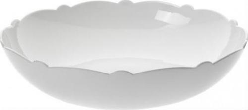 Alessi Miska sałatkowa białej porcelany motyw dekoracyjny (8003299318995)