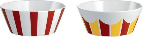 Alessi Zestaw dwóch miseczek z porcelany średnica: 11cm (8003299405015)