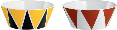 Alessi Zestaw dwóch miseczek z porcelany średnica 11cm (8003299405008)