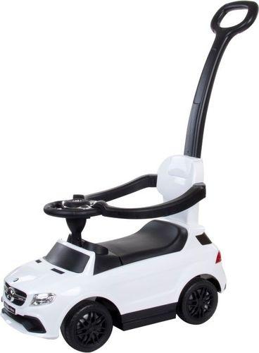 Sun Baby Jeździk Mercedes - Benz GLE 63 AMG z popychaczem - biały