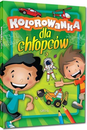 Greg Kolorowanka dla chłopców