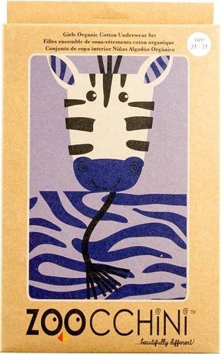 Zoocchini Bielizna Dziewczęca Zebra (5 - 6 lat)