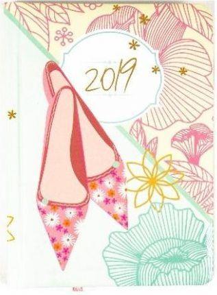 Albi Kalendarz tygodniowy 2019 Pantofelki B6