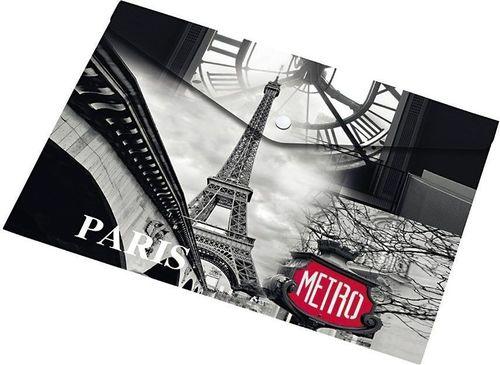 Panta Plast Koperta A5 na napę z nadrukiem Paris