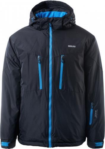 Brugi Kurtka narciarska męska black r. XL (4AP3-500)
